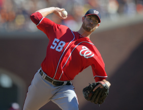 the Washington Nationals Nationals play the San Francisco Giants in the 3rd playoff game