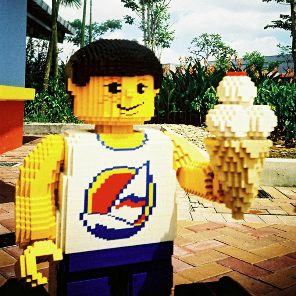 Lego ice cream man
